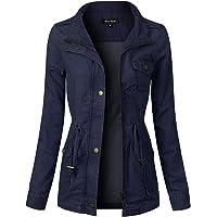 Instar Mode Women's Anorak Safari Hoodie Jacket up to Plus Size