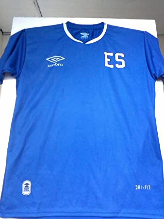 Amazon.com : NUEVO ESTILO - LA SELECTA. CAMISA DE LA SELECCION FUTBOL DE EL SALVADOR. : Sports & Outdoors