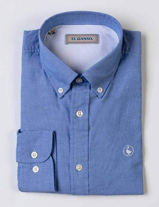 El Ganso 1050S190017 Camisa Casual, Azul (Celeste 0017), XX-Large (Tamaño del Fabricante:XXL) para Hombre: Amazon.es: Ropa y accesorios