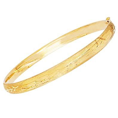 shop bangles polished fpx solid gold bangle bracelet twisted main image in italian product