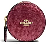Amazoncom Coach JEWELRY BOX IN CROSSGRAIN LEATHER Travel F66502
