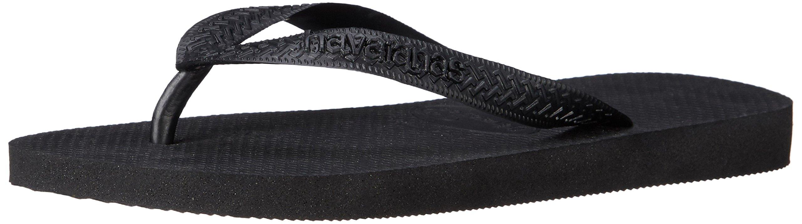 Havaianas Women's Top Sandal,Black,35 BR (6 M US)