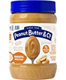 Peanut Butter & Co. Smooth Operator Peanut Butter, Non-GMO Project Verified, Gluten Free, Vegan, 16-Ounce Jar
