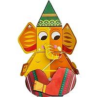 Toiing Craftoi 3D DIY Paper Craft Toy - Ganapati, Multi Color