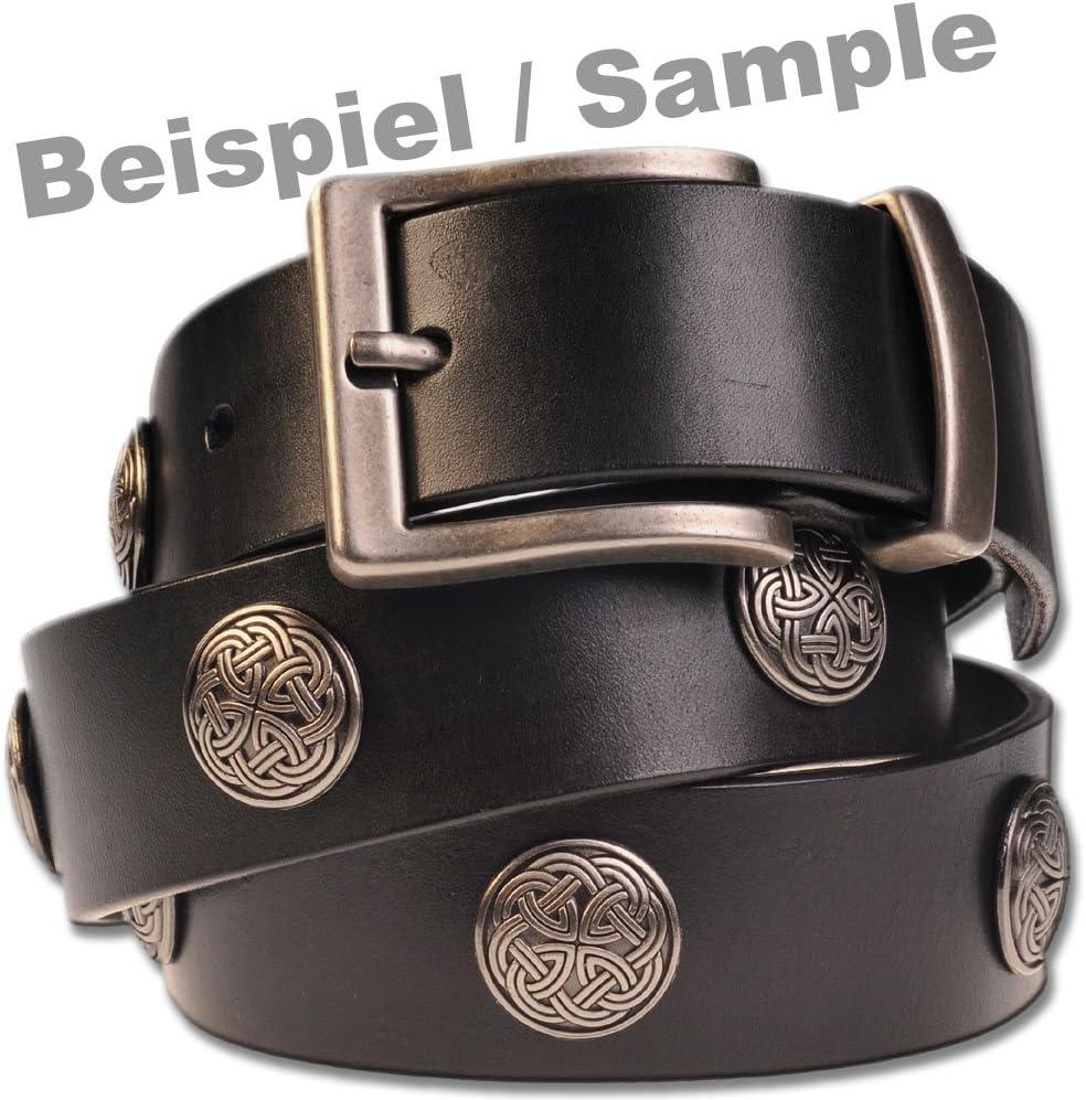 Celtic Concho Schraubzierniete Schraubniete Hoppe /& Masztalerz 6 St Screwback Concho Zierniete Keltisch Schl/üsselmuster
