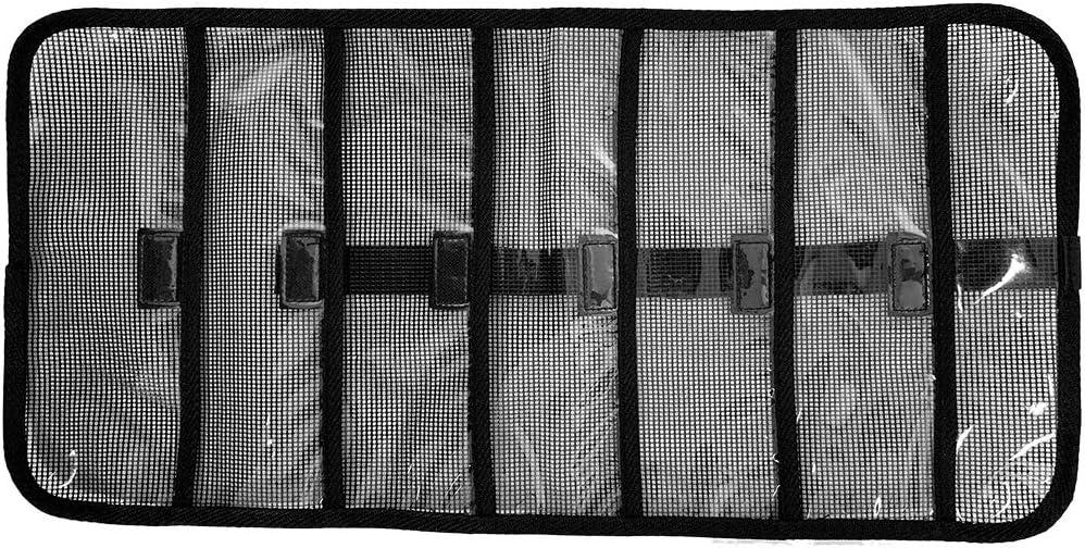 20 X 9 Roll-Up Large Side Entry Lure Bag – Black – 3 pcs