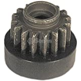 Stens 435-851 Starter Drive Gear, Replaces Tecumseh: 33432, Fits Tecumseh: H50, H60, Hh40, Hh60 and V70, 16 Teeth