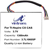 VINTRONS 1300mAh Battery for Texas Instruments TI-Nspire CX, TI-Nspire CX CAS,