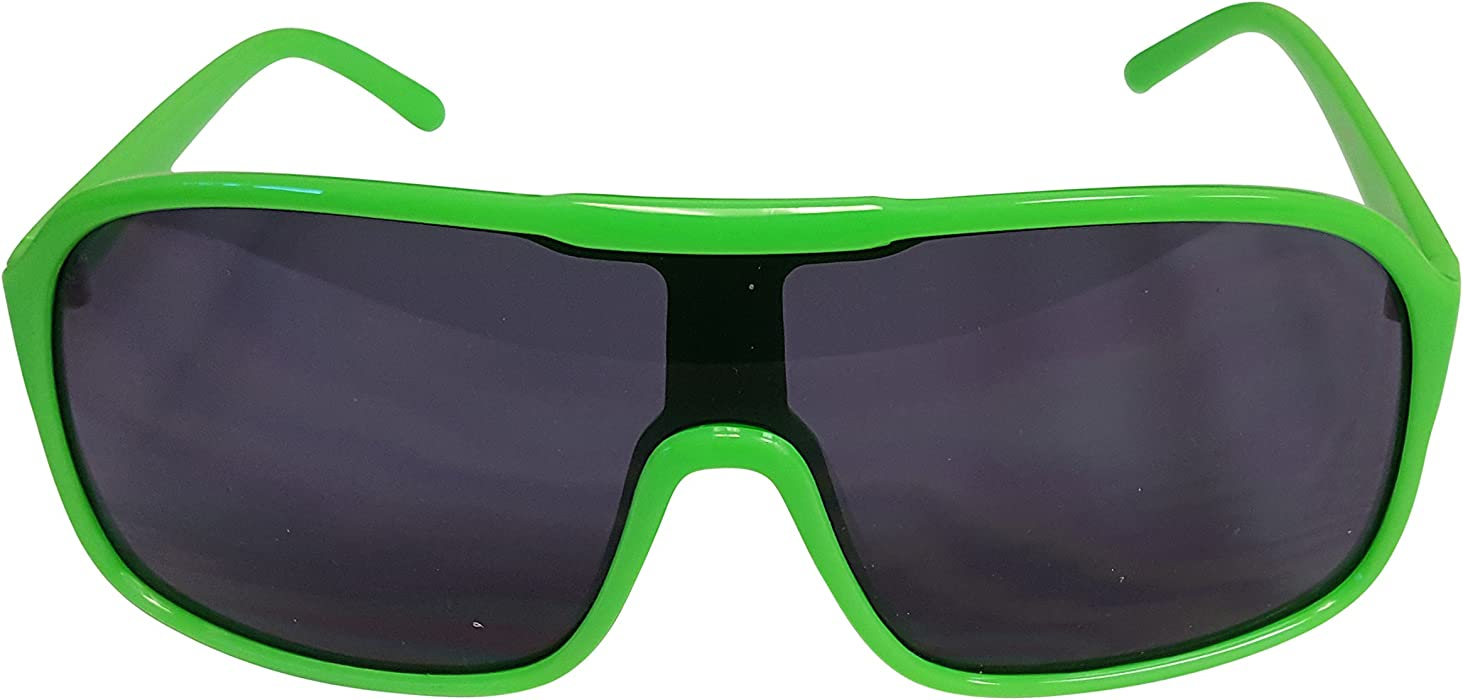 0453e12d4c5f8 Amazon.com: Party Sunglasses Shades for Macho Man Costume-Green ...