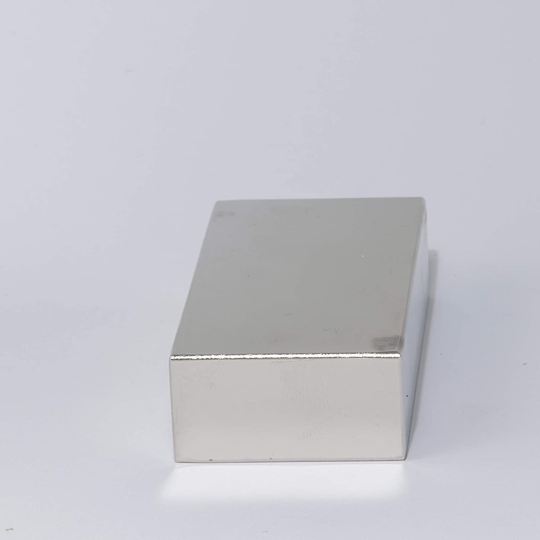 MTS Magnete N52, 80 x 40 x 20 mm, extrafuerte, tama/ño grande, 220 kg Im/án de neodimio