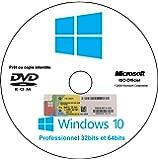 Microsoft Windows 10 Pro 32|64 Bits OEM 1 License