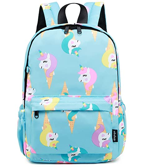 c6dd8fb6e0ca Abshoo Little Kids Backpacks for Boys and Girls Preschool Backpack With  Chest Strap (Unicorn Blue)