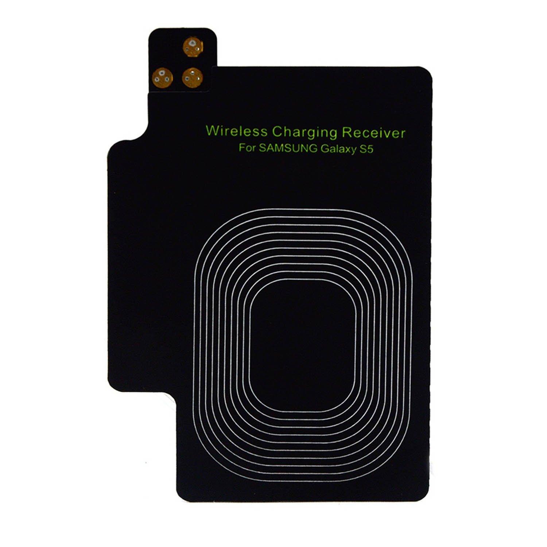 Vococal - QI Ultrafino Cargador inalámbrico módulo Receptor para Samsung Galaxy S5 I9600 Accesorio de Carga