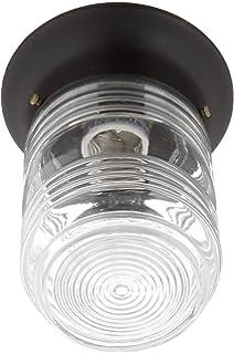Boston Harbor HV 66919 BK3L Porch Light Jelly Jar, Black