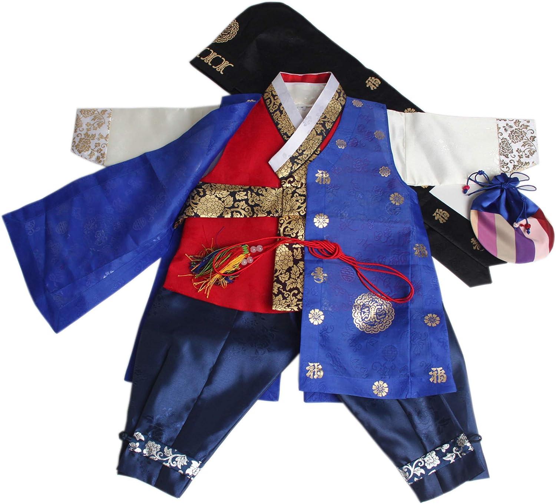 Amazon.com: Disfraz de Hanbok para bebé coreano, para primer ...