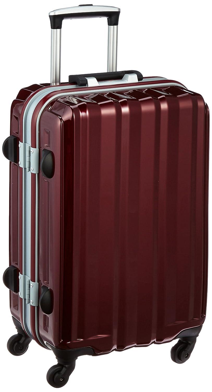 [レジェンドウォーカー] スーツケース フレーム ハードスーツケース 4輪 快適な走行性能のキャスター 5097-53 保証付 43L 61 cm 4.2kg B01A6QIPSG ワインレッド