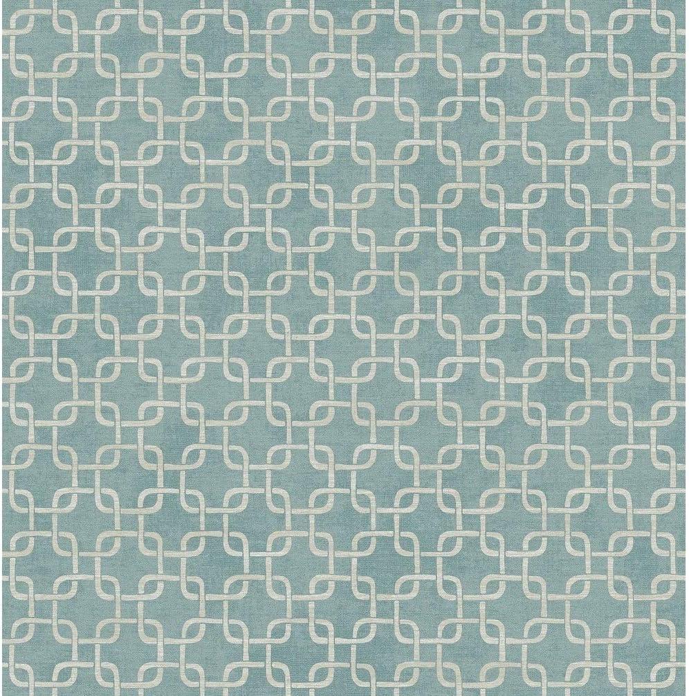 Link Wallpaper bei Steel blau Greige Modern Contemporary Paper