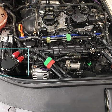 retrait r/églable universel de voiture KKmoon Cl/é de filtre /à huile avec cha/îne de serrage