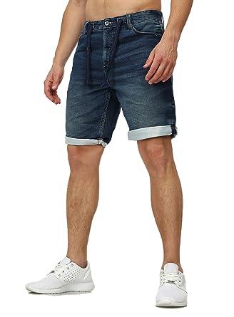 f85c4337b10c Sweat Jeans Denim Jogger Shorts Sommer Kurze Hose Sublevel 98-86 dunkelblau   Amazon.de  Bekleidung