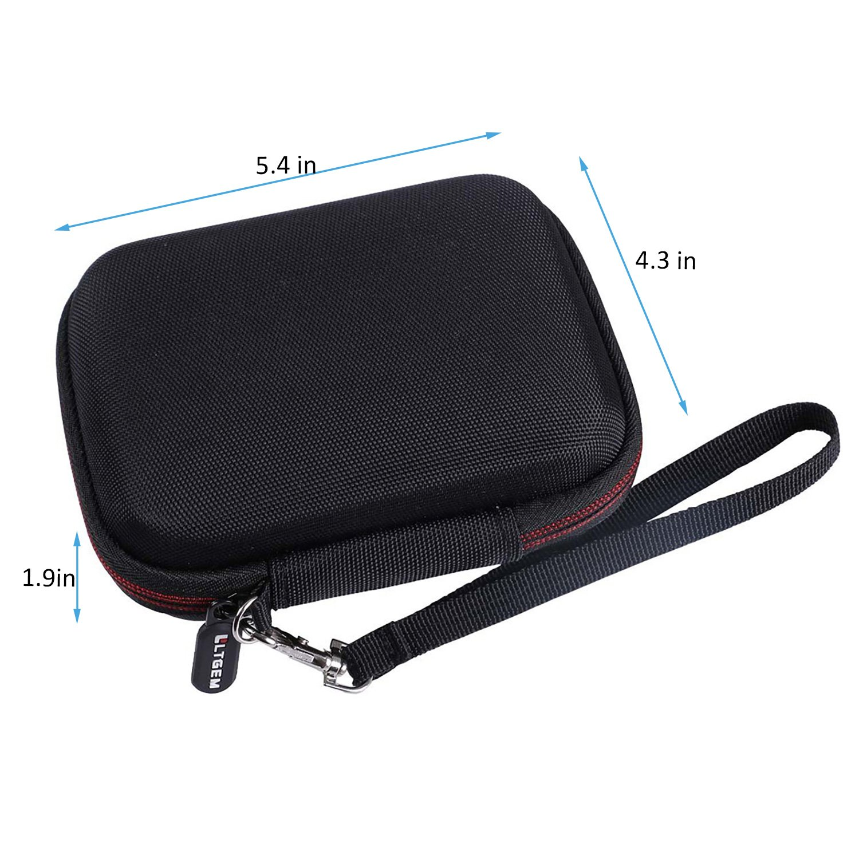 /viaggio di immagazzinaggio Ltgem custodia rigida in EVA per WD My Passport SSD esterno portatile SSD 1TB//2Tb//256/GB//512/GB/