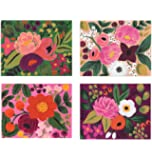 Assorted Vintage Blossom Notecards by Rifle Paper Co. -- Set of 8 Cards and Envelopes