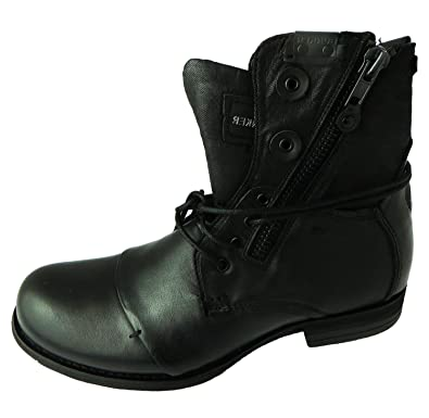 Bunker Men's Por-fe 1 Leather Combat Boots