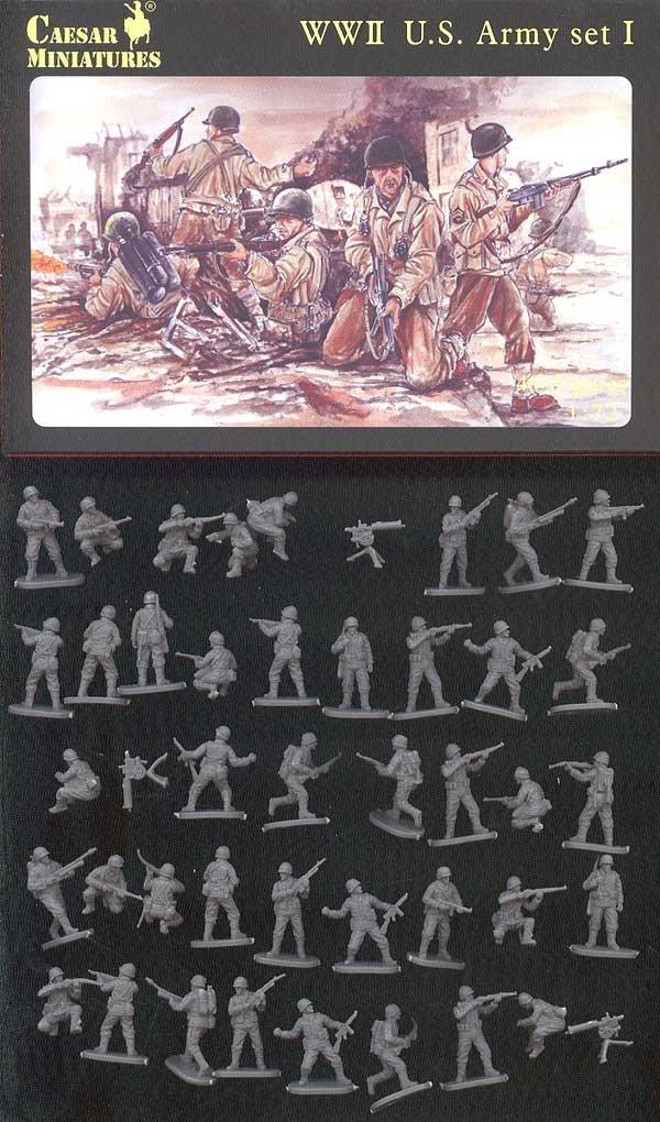/WWII US Army Unbekannt Caesar Miniatures H054/