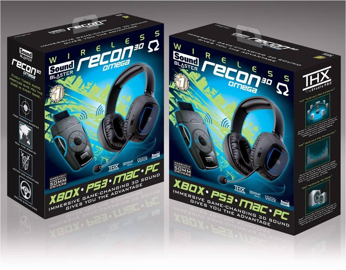 sound blaster omega recon 3d drivers