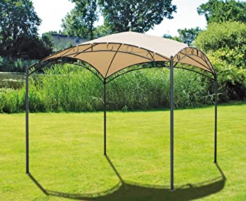 Amazonde Pavillon Stahl Gartenzelt Partyzelt Garten Zelt