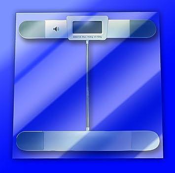 Amazon.com: Talking Báscula de vidrio digital: Health ...