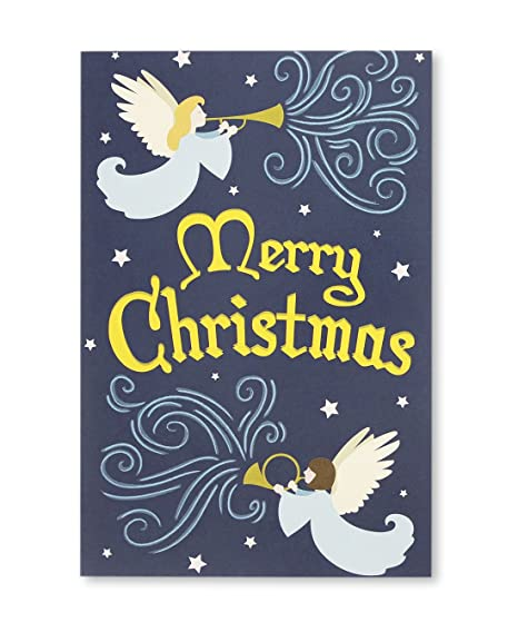 winter angel boxed holiday greeting cards