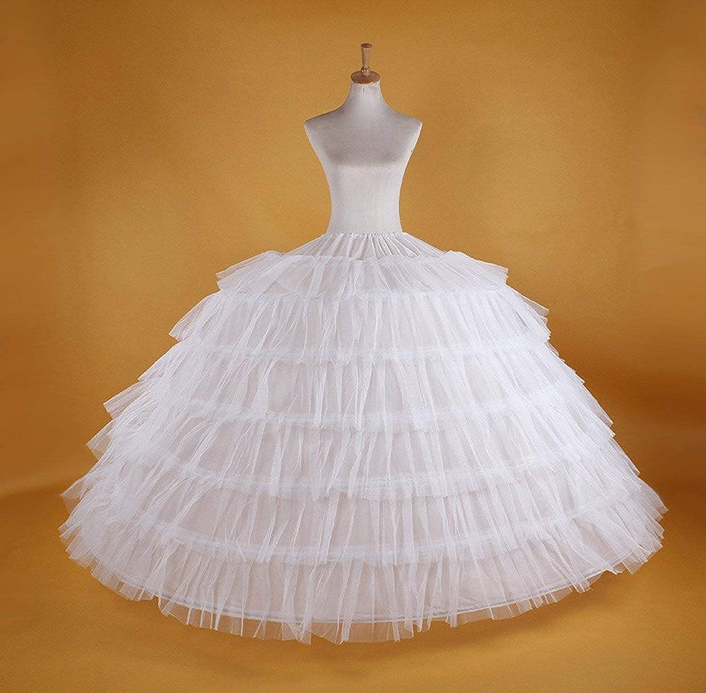 Happydress Sottogonna Sposa Sottogonna 7 Cerchio Crinolina Cerchi Sottogonna Sottoveste da Sposa Wedding Petticoat Abiti da Sposa Sottovesti Sottogonna Sottoveste Sottogonne Donna