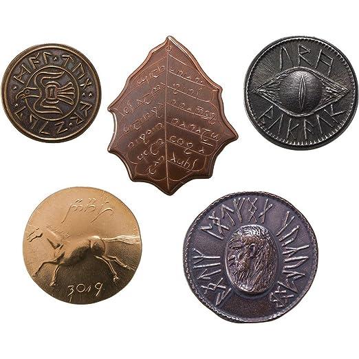 Herr Der Ringe Münzen 5er Set 1 Amazonde Küche Haushalt