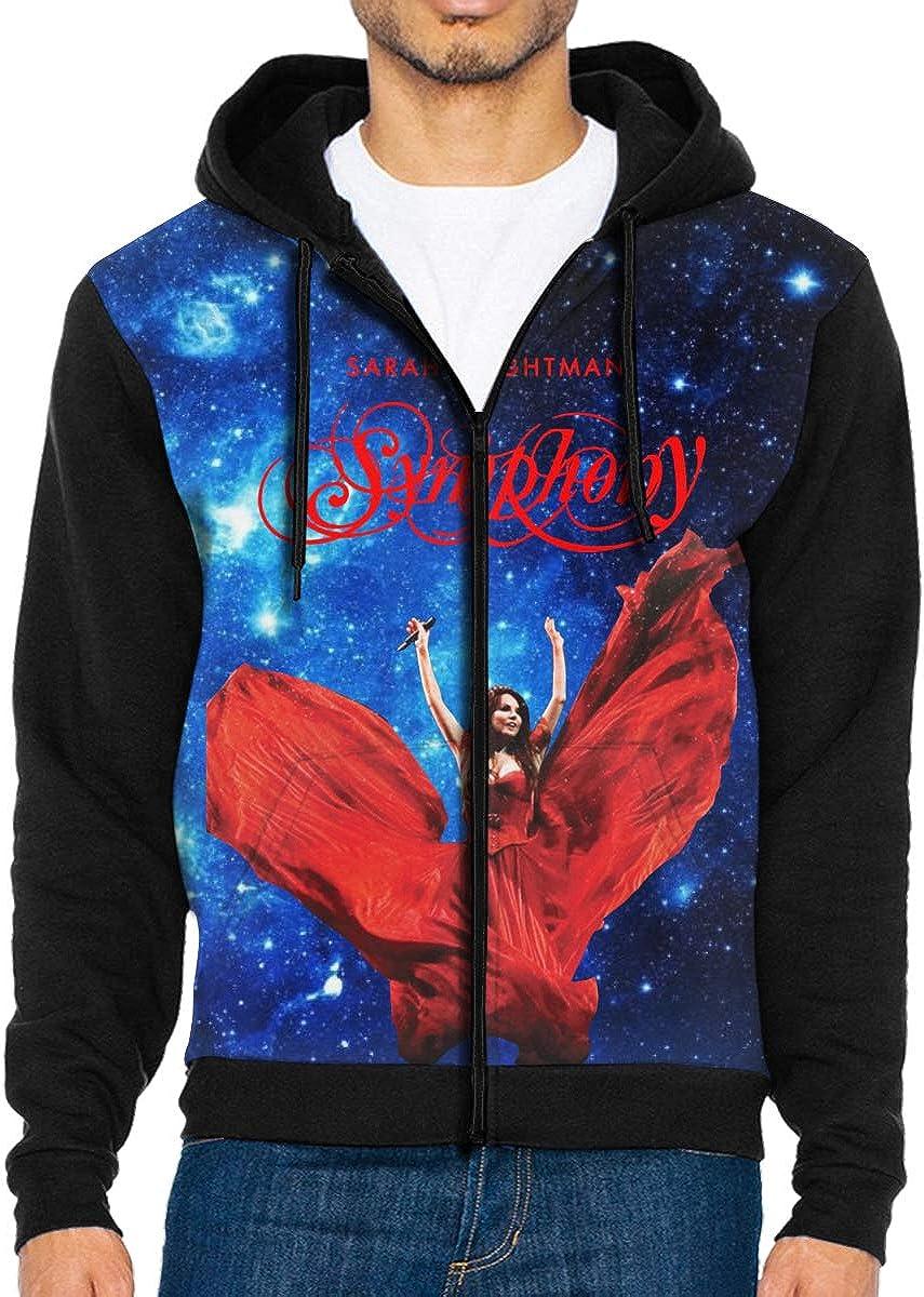 Yadiicoyo Jacket Mens Sweatshirt Sweater Hooded Sports Hoody Man Zip Hoodie with Pocket