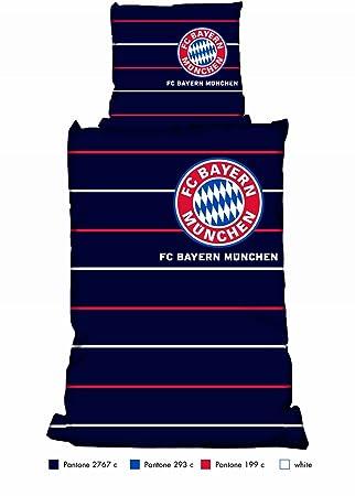 Bayern München Biber Bettwäsche Für Fußballfans Amazonde Küche