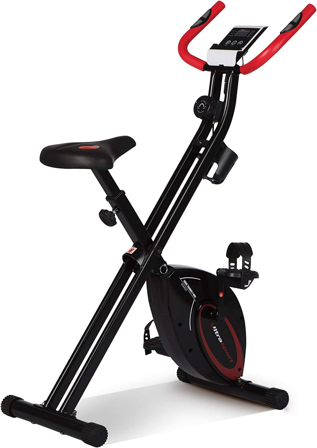 Ultrasport F-Bike Design Bicicleta estática de fitness plegable ...