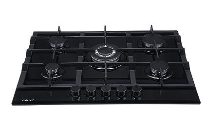 Millar GH7051TB 70 cm gas-cocina vitrocerámica: Amazon.es ...