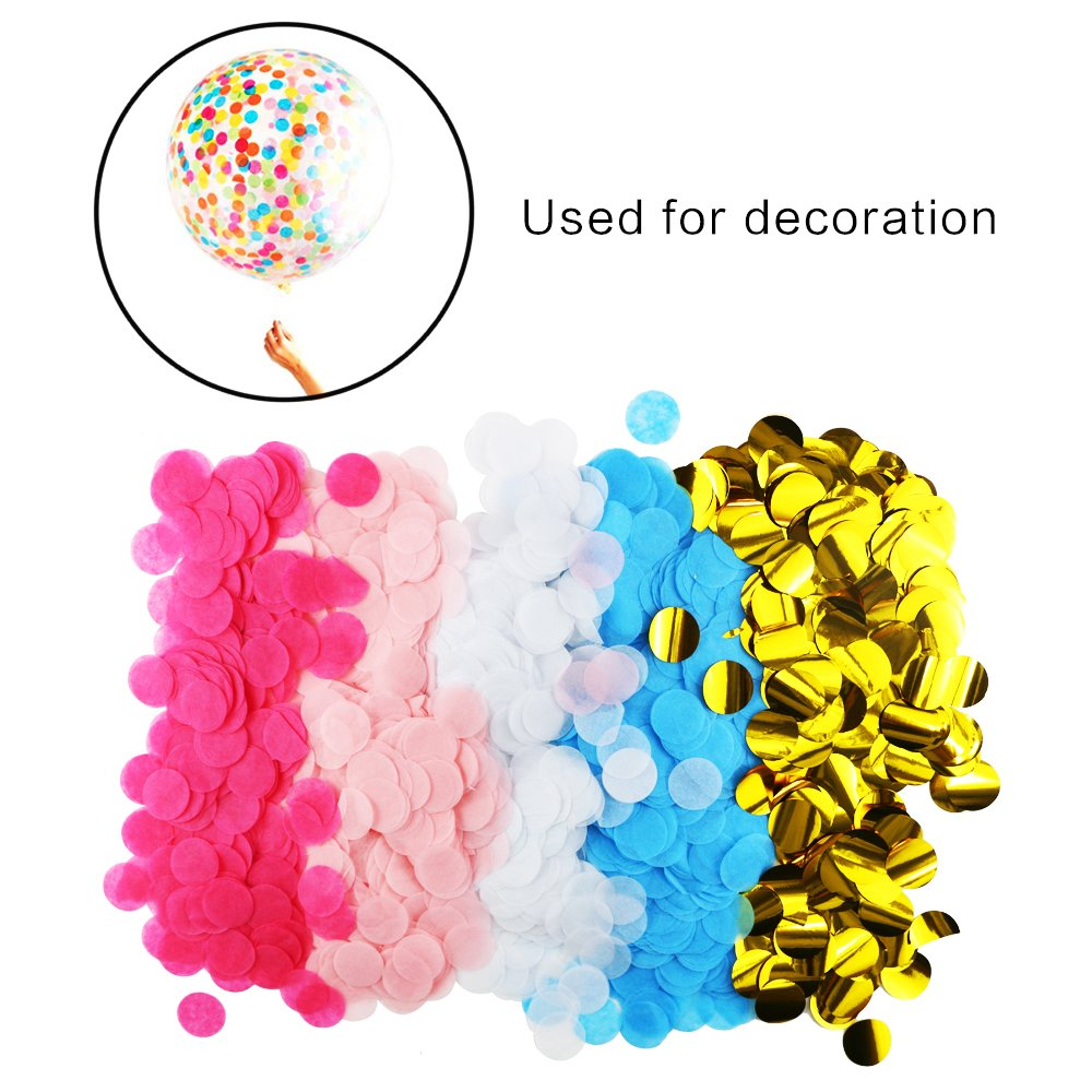 Oruuum 5000 pieces 1 Inches circular paper,Table Decoration,Paper Confetti,Mixed Colors for Wedding,Birthday party decorations Table Decoration/,Paper Confetti/,Mixed Colors for Wedding/,Birthday party decorations.