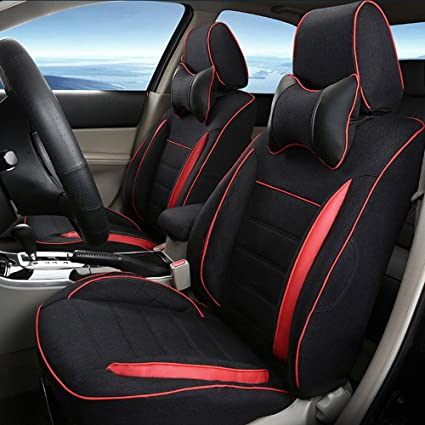 amazon com autodecorun automobile exact fit flax car seat cover setautodecorun automobile exact fit flax car seat cover set for lexus gs 250 gs 350 gs