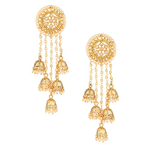 1e2259015 Buy Pourni exclusive Designer Bahubali American Diamond Earring With  Dangling Jhumka -KRER12 Online at Low Prices in India | Amazon Jewellery  Store ...