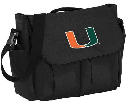 Amazon.com: Universidad de Miami – Bolso cambiador Miami ...