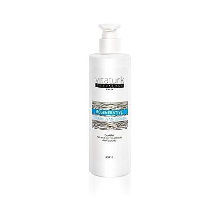 Champú anticaida tratamiento Cabello seca Calma hidrata y regenera la piel del cuero cabelludo cabellos injertados