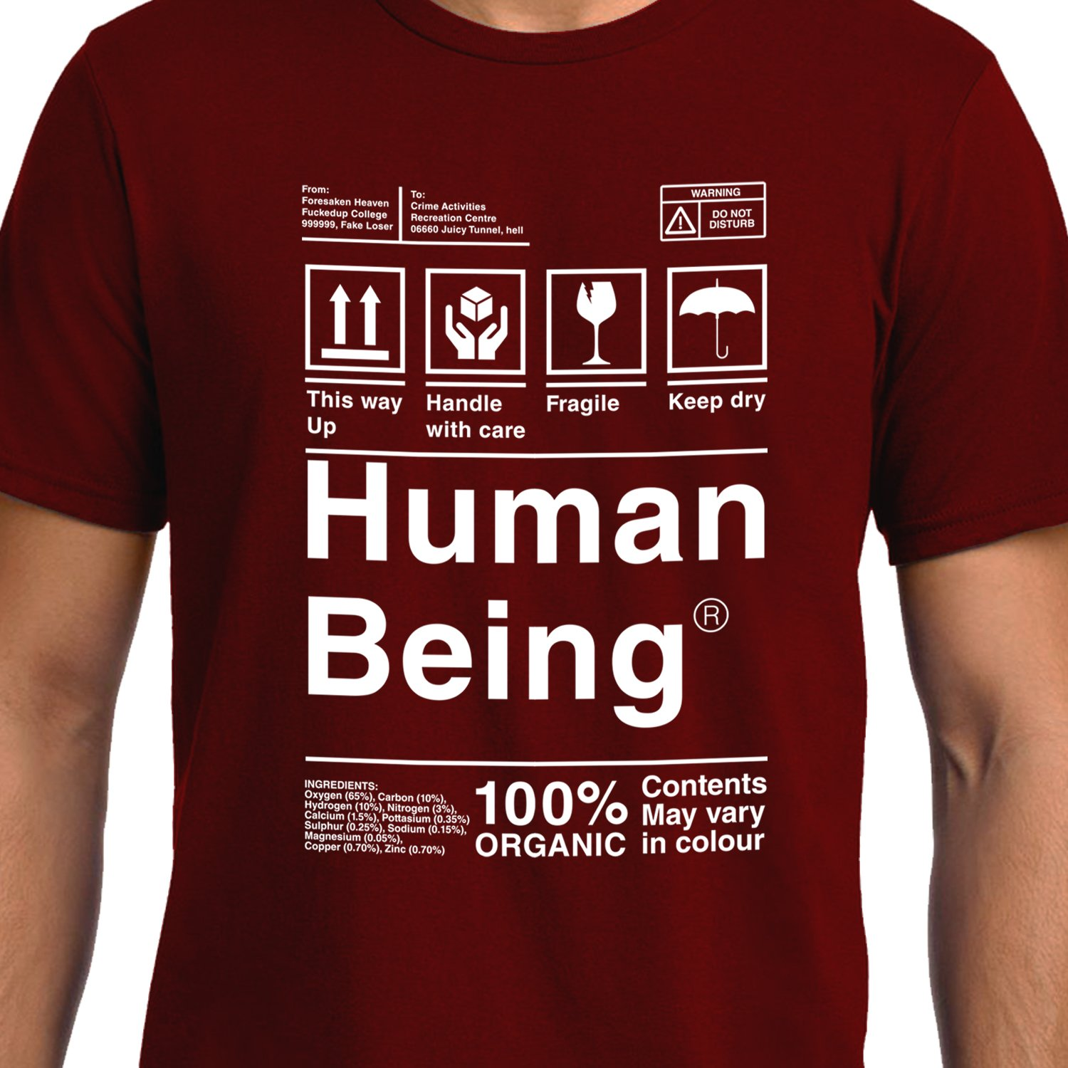Funny Gifts - Funny T-Shirt - Human Being