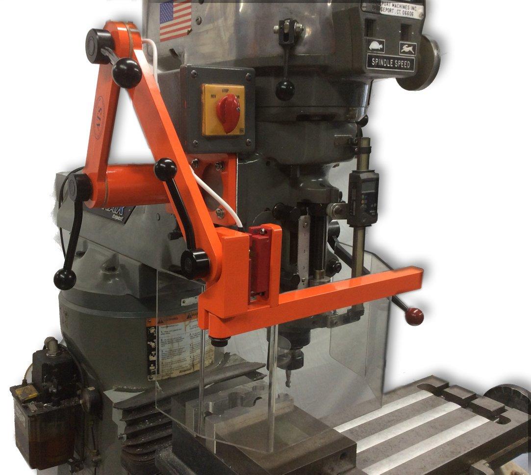 ATS Milling Machine Guard, Head Mount