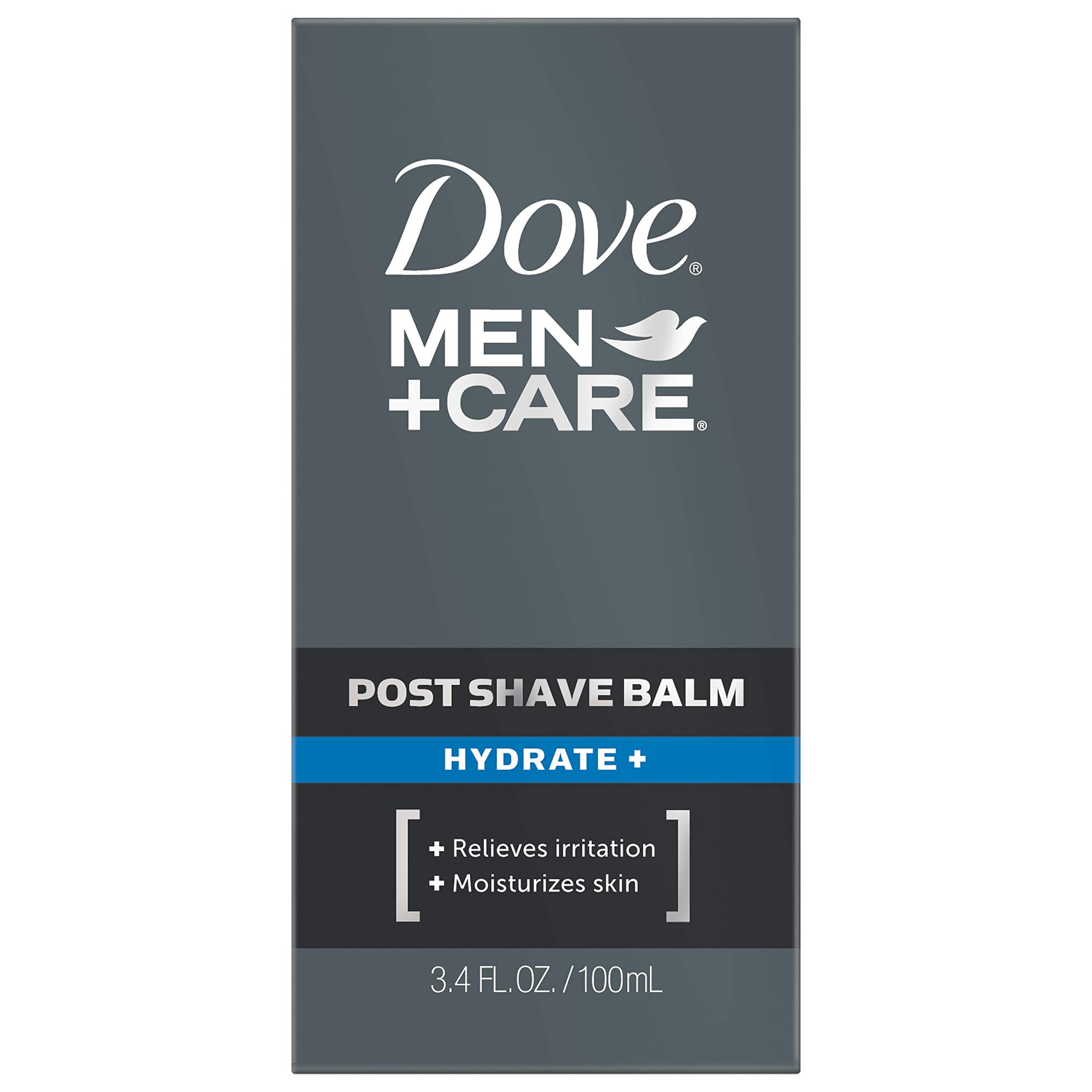 Dove Men+Care Post Shave Balm, Hydrate+, 3.4 Fl Oz, Pack of 2 by Dove