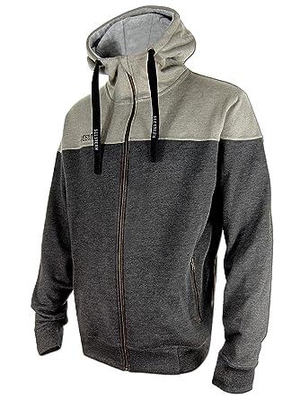 04616e9235e87f SEESTERN Herren Kapuzen Sweat Shirt Jacke Pullover Zip Hoody Sweater Gr.S- XXL  Amazon.de  Bekleidung