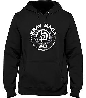 Dirty Ray Martial Arts MMA Krav Maga men/'s hooded sweatshirt B49