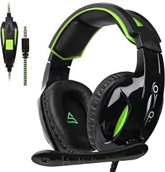 SUPSOO G813 Auriculares para Juegos Xbox One PS4 3.5 mm con Cable ...