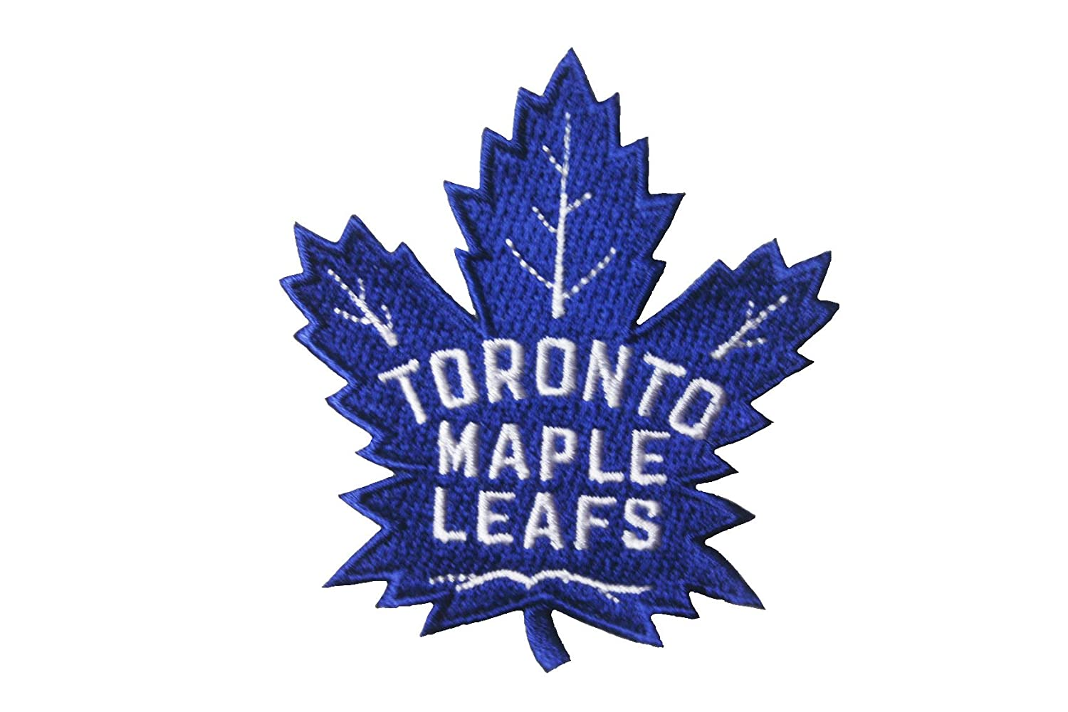 TORONTO MAPLE LEAFS NHL Hockey Blue ( NEW ) Logo Iron on Patch Crest Badge ... 2.75 X 3 Inch ... New SUPERDAVES SUPERSTORE