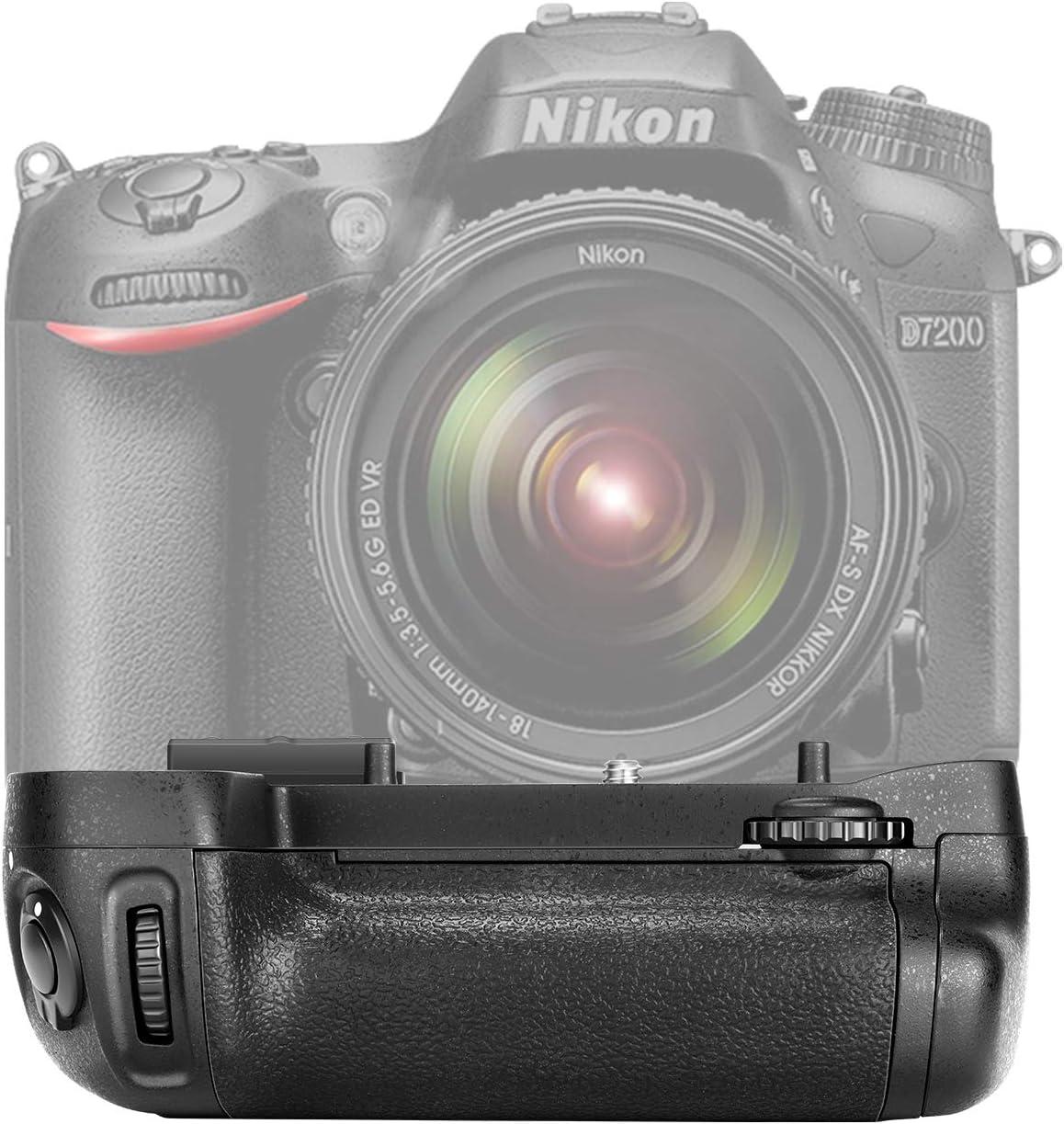 Grip de bateria para  Nikon D7100 D7200 Digital SLR Camara